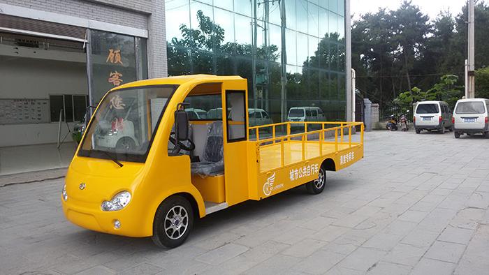 成都拉自行车专用电动货车