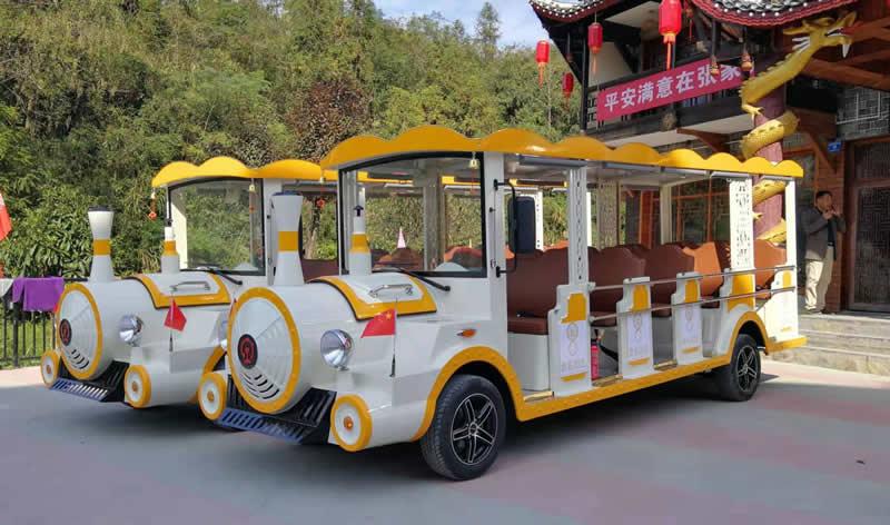 14座电动观光车(火车头款)